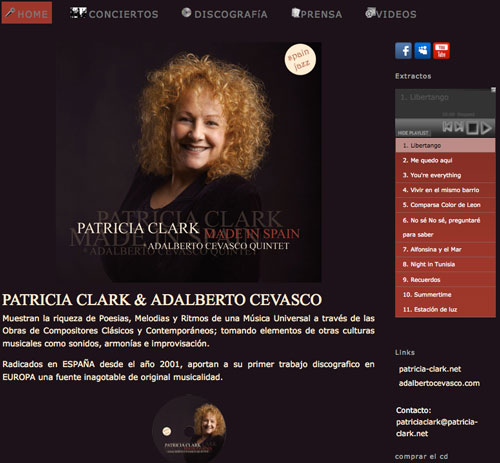Made in Spain Album Patricia Clark