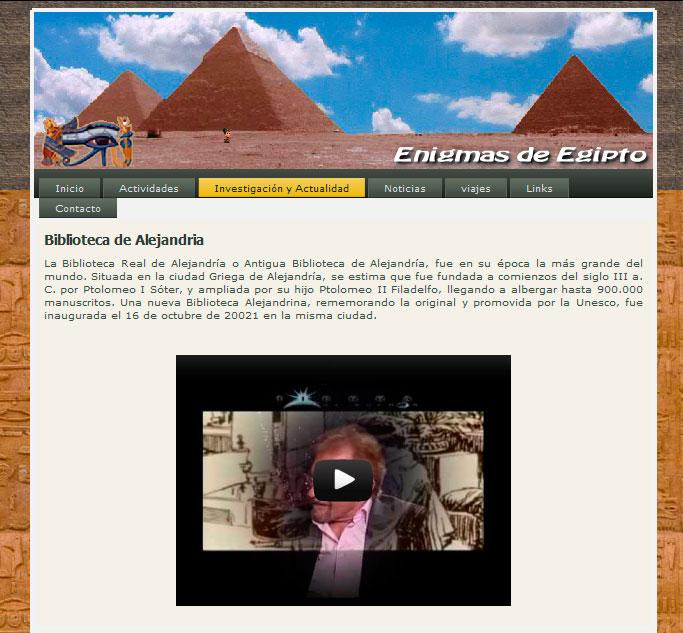Enigmas de Egipto
